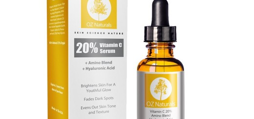OZ Naturals - THE BEST Vitamin C Serum For Your Face - Organic Vitamin C + Amino + Hyaluronic Acid Serum-